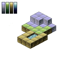 Pixel Art: Minecraft Mob Battles Mockup Tiles by InsidiousSys