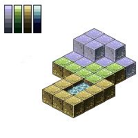 Pixel Art: Minecraft Mob Battles Mockup Tiles by InsidiousSys
