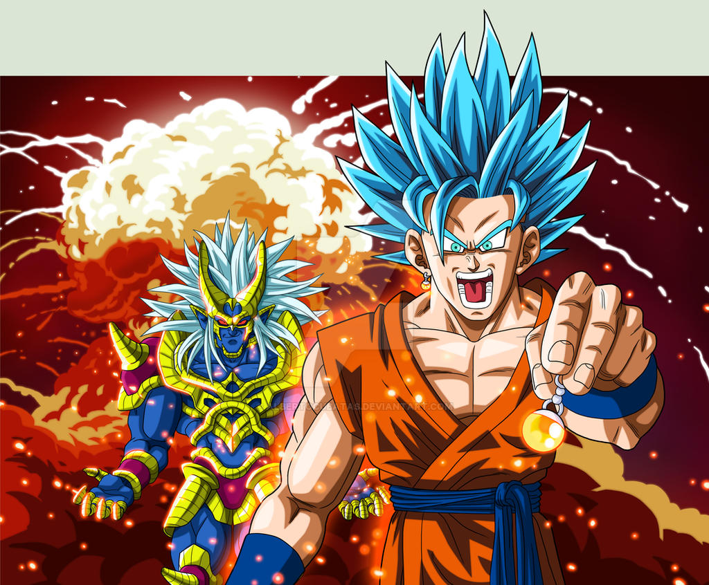 Goku SSJGSS2 VS Stronger God By Albertocubatas On DeviantArt