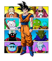 Masters of Goku (full color)