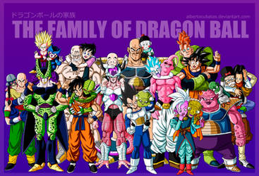 The family of Dragon Ball