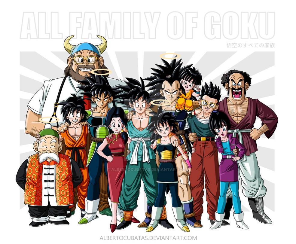 Familia Goku Final