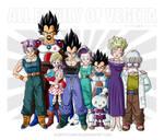 All family of Vegeta