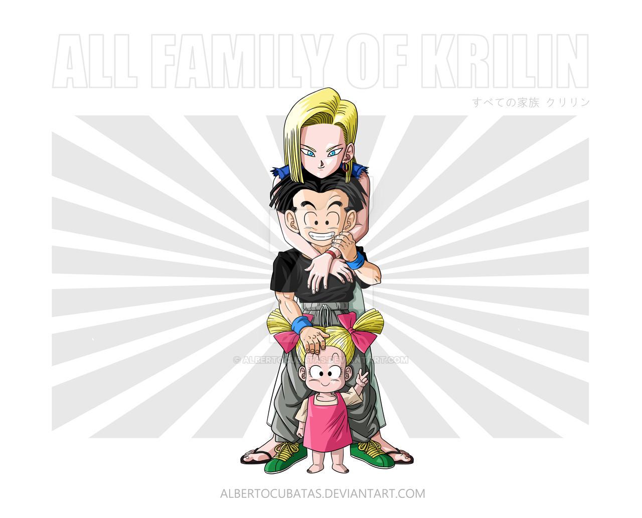 All family of Krilin