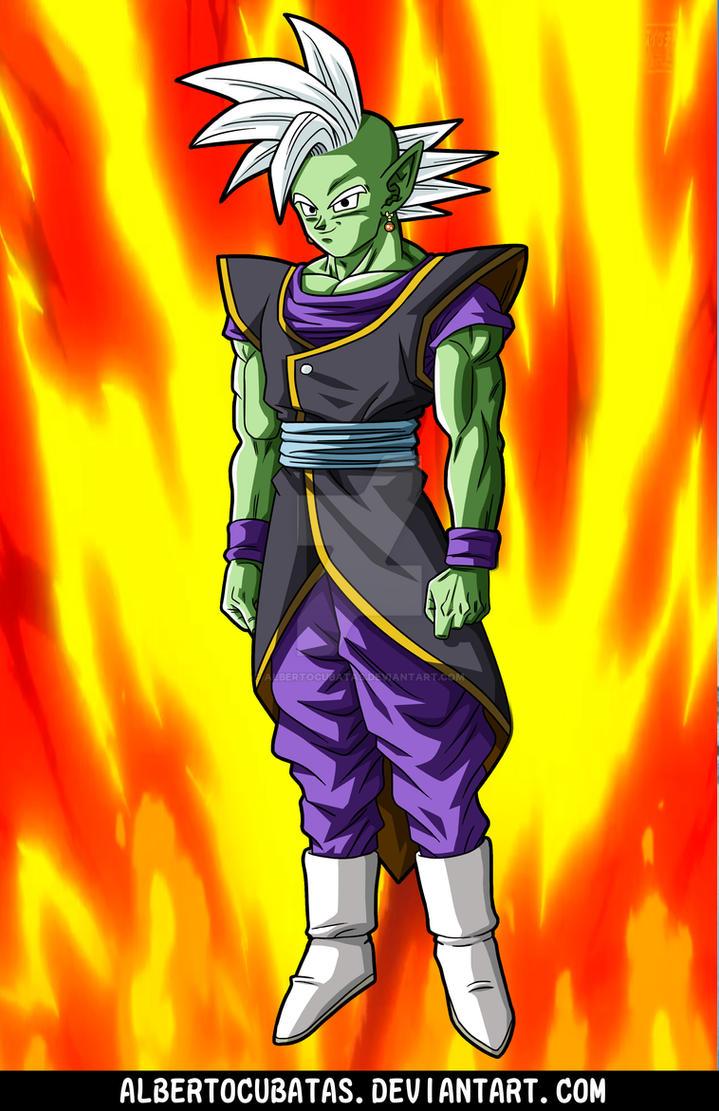Goku Black Kaioshin fusion by albertocubatas