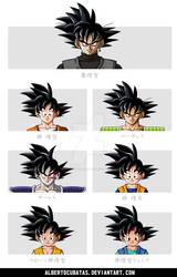 Goku characters hairstyle