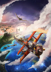 Flying away by MarkGart