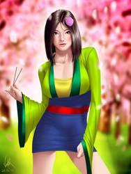 Mulan by ViiPerArt