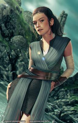 Rey - Star Wars VIII