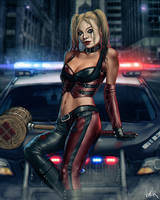 Harley Quinn by ViiPerArt