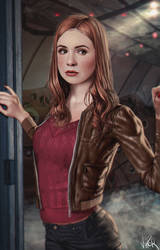 Amy Pond by ViiPerArt