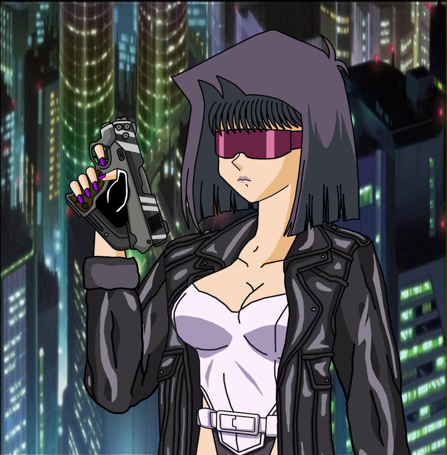 As Motoko With Gun .1 By Duel-Monsters On DeviantArt