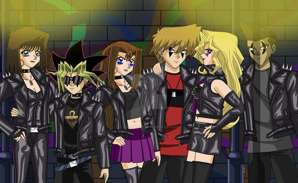 Yugi And The Gang Punk Style 1