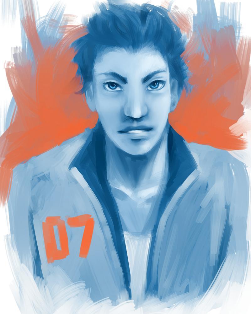 Blue boy by AcyeL