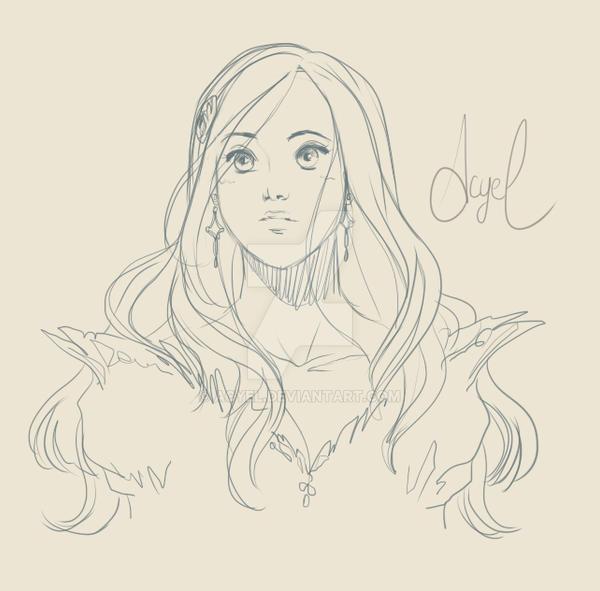 sketch Astasia by AcyeL