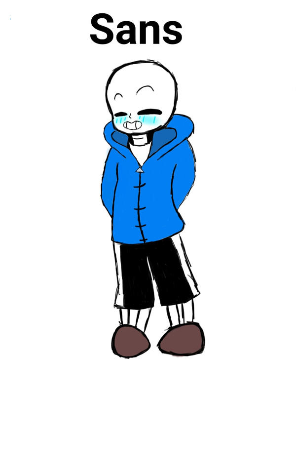 Happy sans by that-one-artist7001