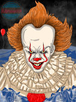 It Pennywise The Dancing Clown by Hurdysketch