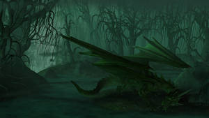 Hunting in the swamp