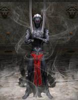 Dark Elf Arcane Blade by DarioFish