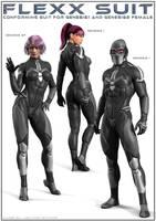 FLEXX Suit G1+G2F by DarioFish