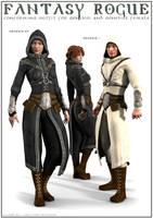 Fantasy Rogue G1+G2F by DarioFish
