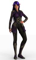 Nastya + Elven Sorceress Outfit