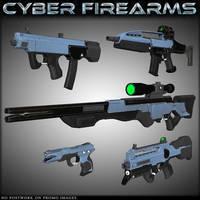 HFS Cyber Firearms by DarioFish