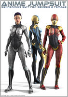 Anime Jumpsuit for G2F