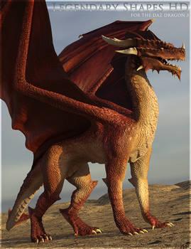 HFS Legendary Shapes HD for DAZ Dragon 3