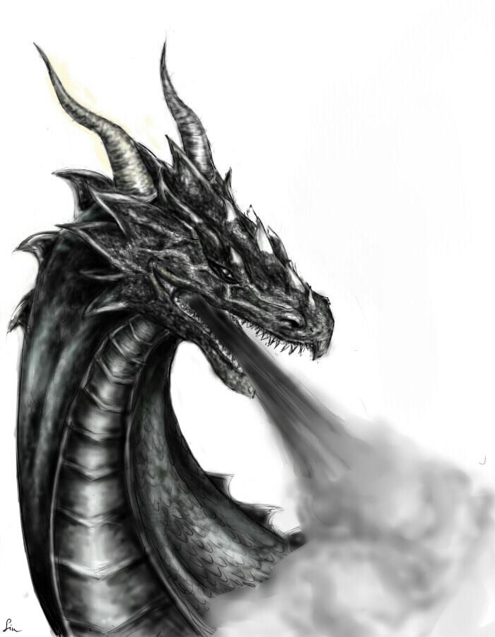 Dragon breath by Sennish
