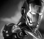 Iron Man by hotaruk