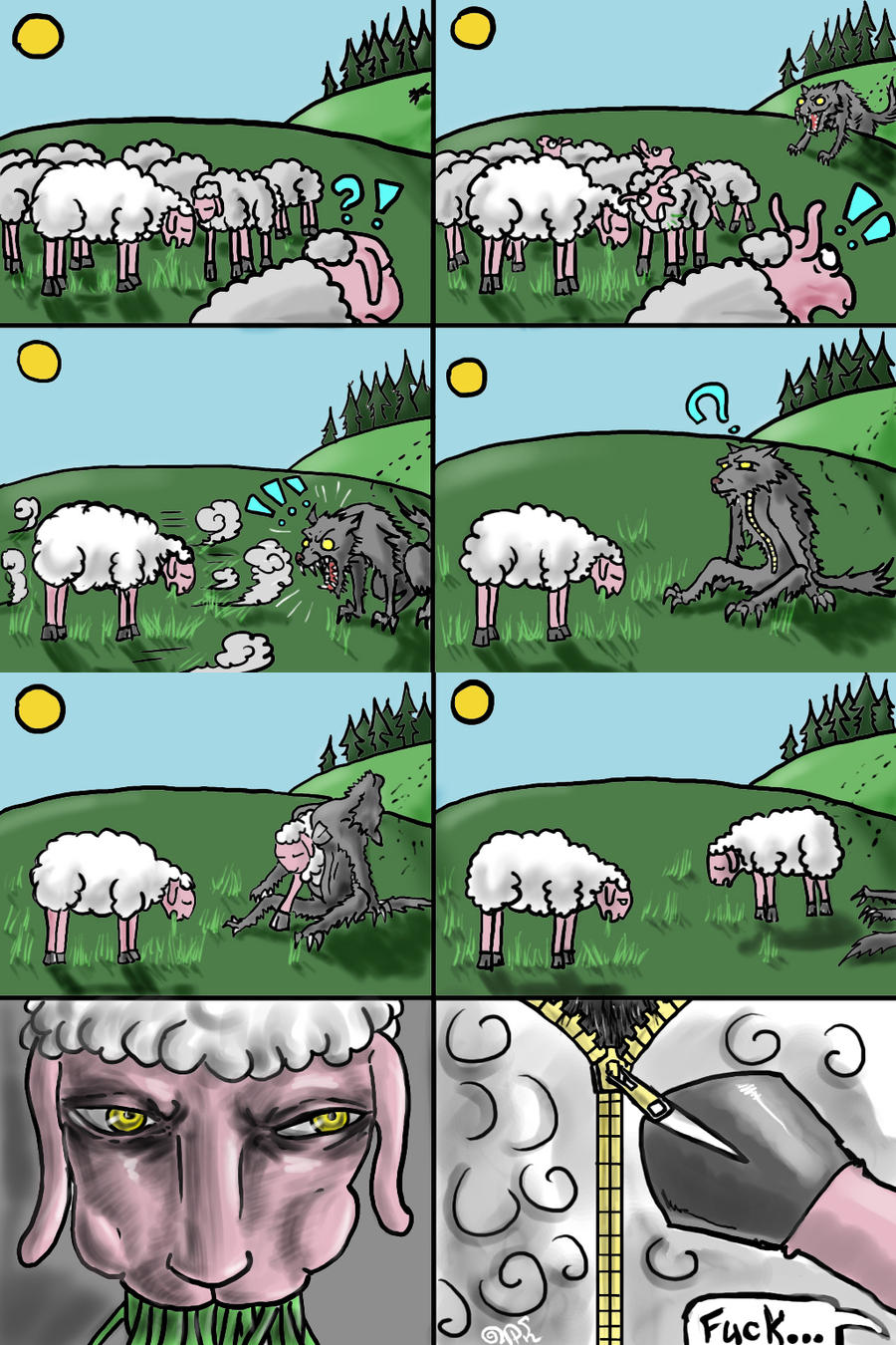 Wolf and sheep sex games