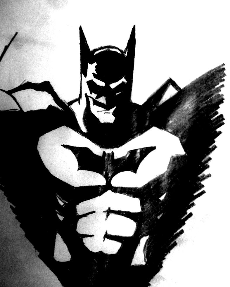 batman logo stencil cake ideas and designs