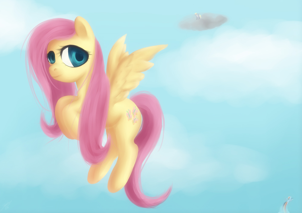Fluttershy by StrawberryNinilein