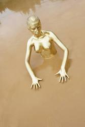 the sunken statue by LXXT