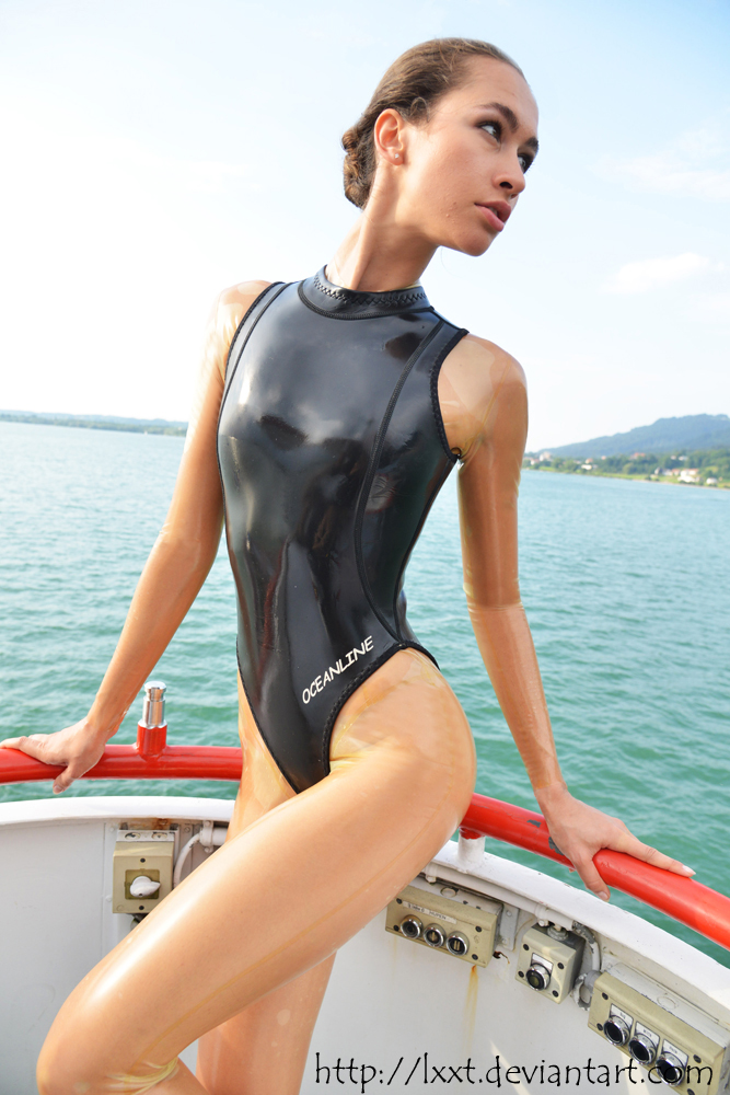 one piece vuxen fetish latex