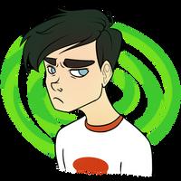 brooding teenager