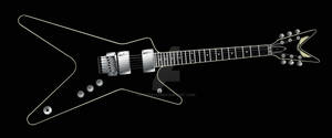 Dean ML Black Chrome
