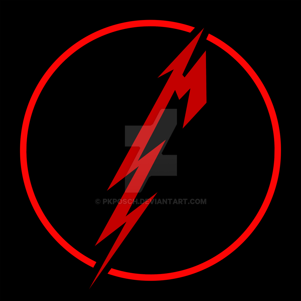 Metallica - Through the Never Lightning Logo