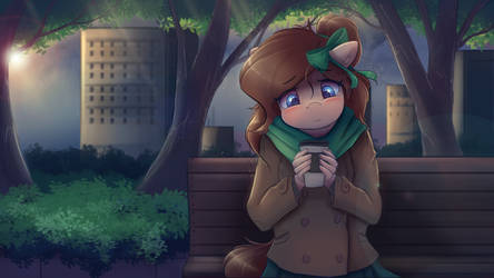 Pondering life by Ardail