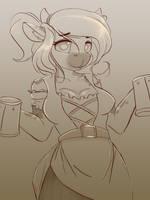 Tavern Cow WIP by Ardail