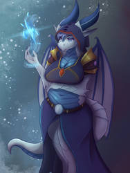 Ice Dragoness by Ardail