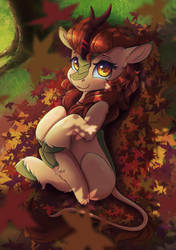 Autumn Leaves by Ardail
