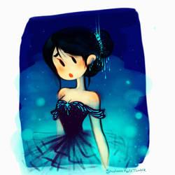 The Blue Ballerina