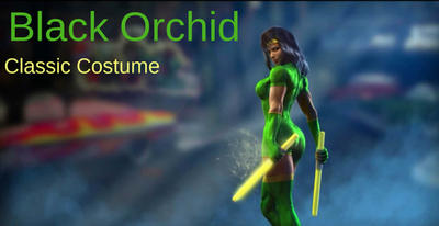 Black Orchid's Classic Costume for KI 2013