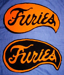 Baseball Furies Patches