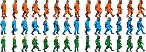 Void large sprite sheet