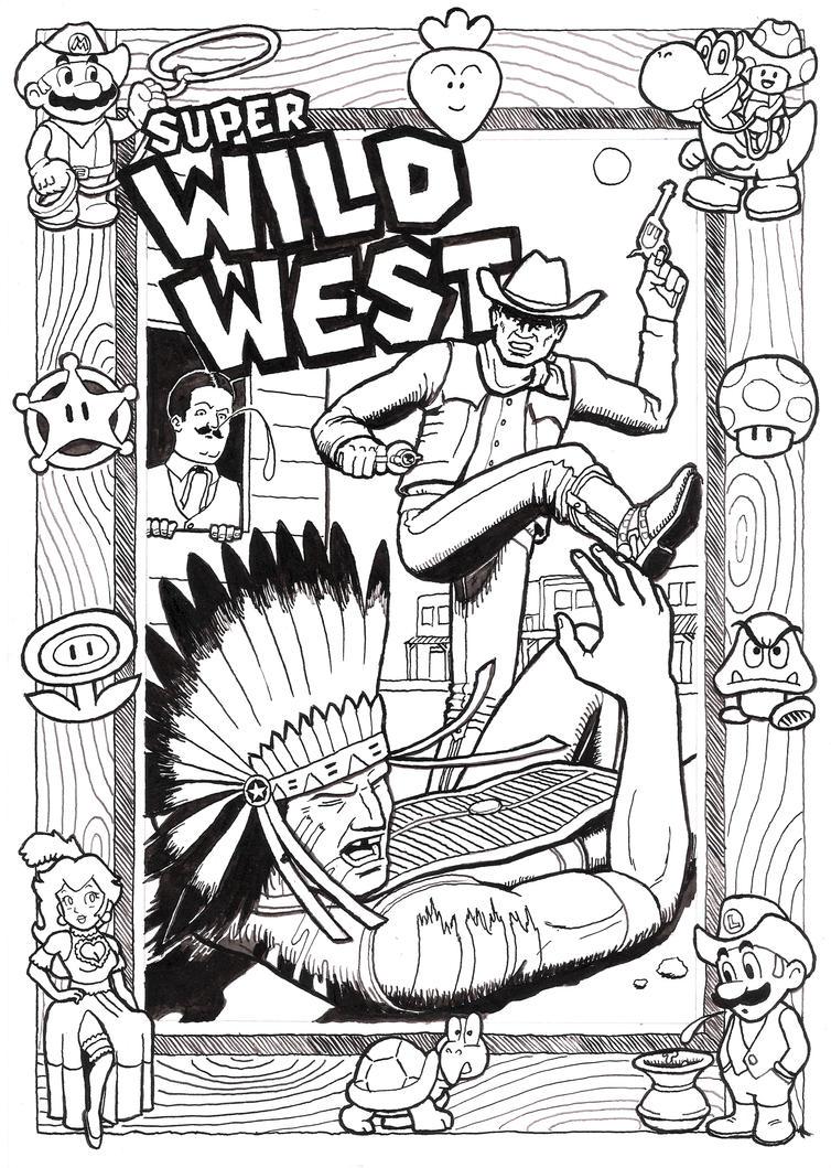 Mario Wild West by ralphenstein