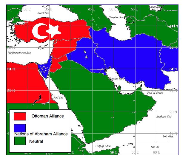 AmericanGerman Cold War Middle East Alliances by Freedim on