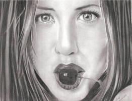 Jennifer Aniston by artmapassion